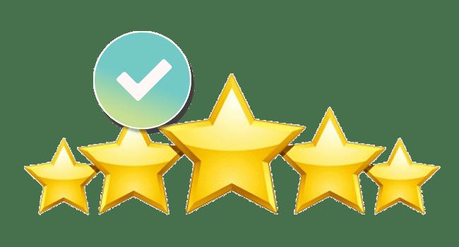 5 Star Reviews Icon
