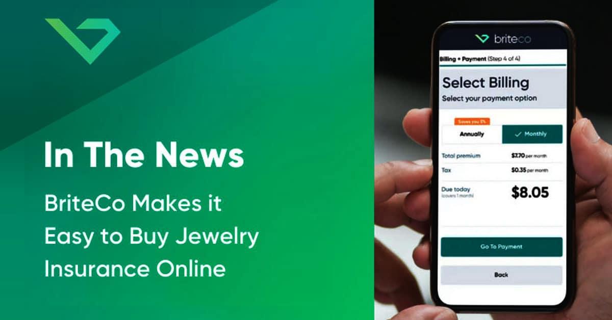 BriteCo Makes It Easy to Buy Jewelry Insurance Online